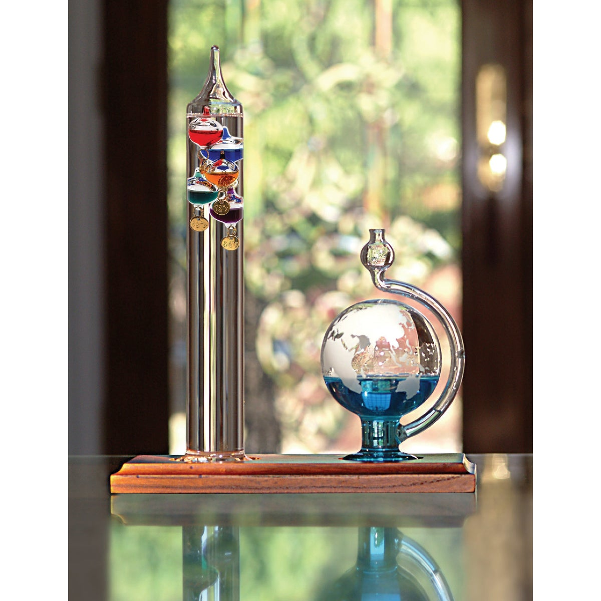GALILEO BARO/THERMOMETER - 00795 by Chaney Instrument Co