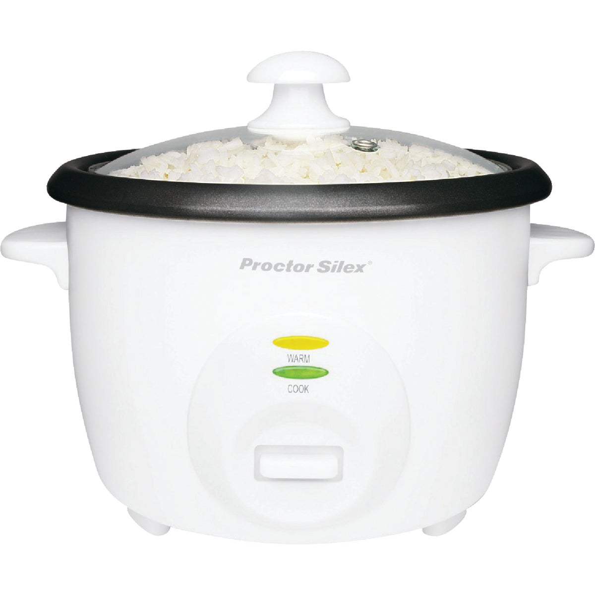Proctor Silex 5-Cups uncooked resulting in 10-Cups Cooked Rice Cooker, White ...