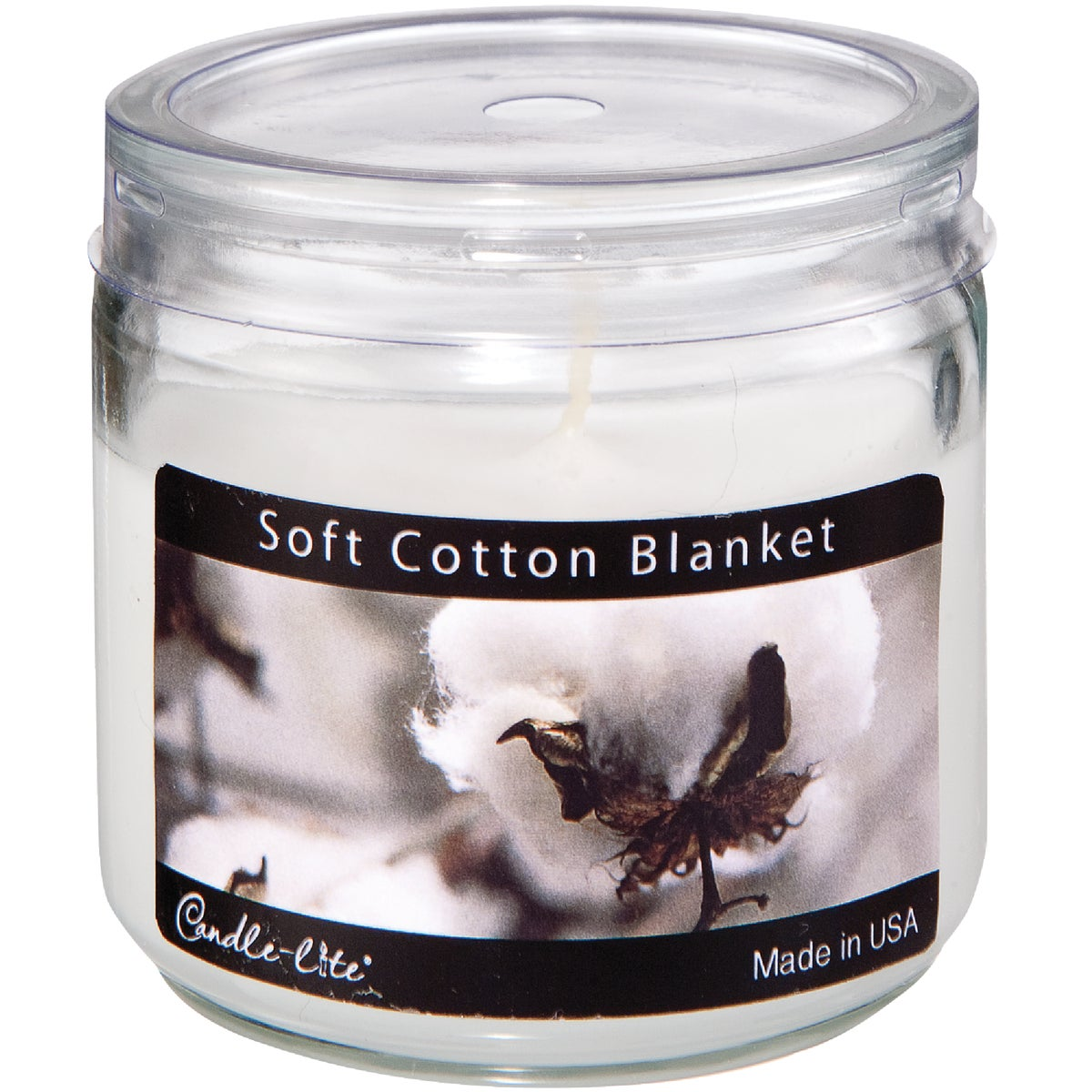 SOFT COTTON JAR CANDLE