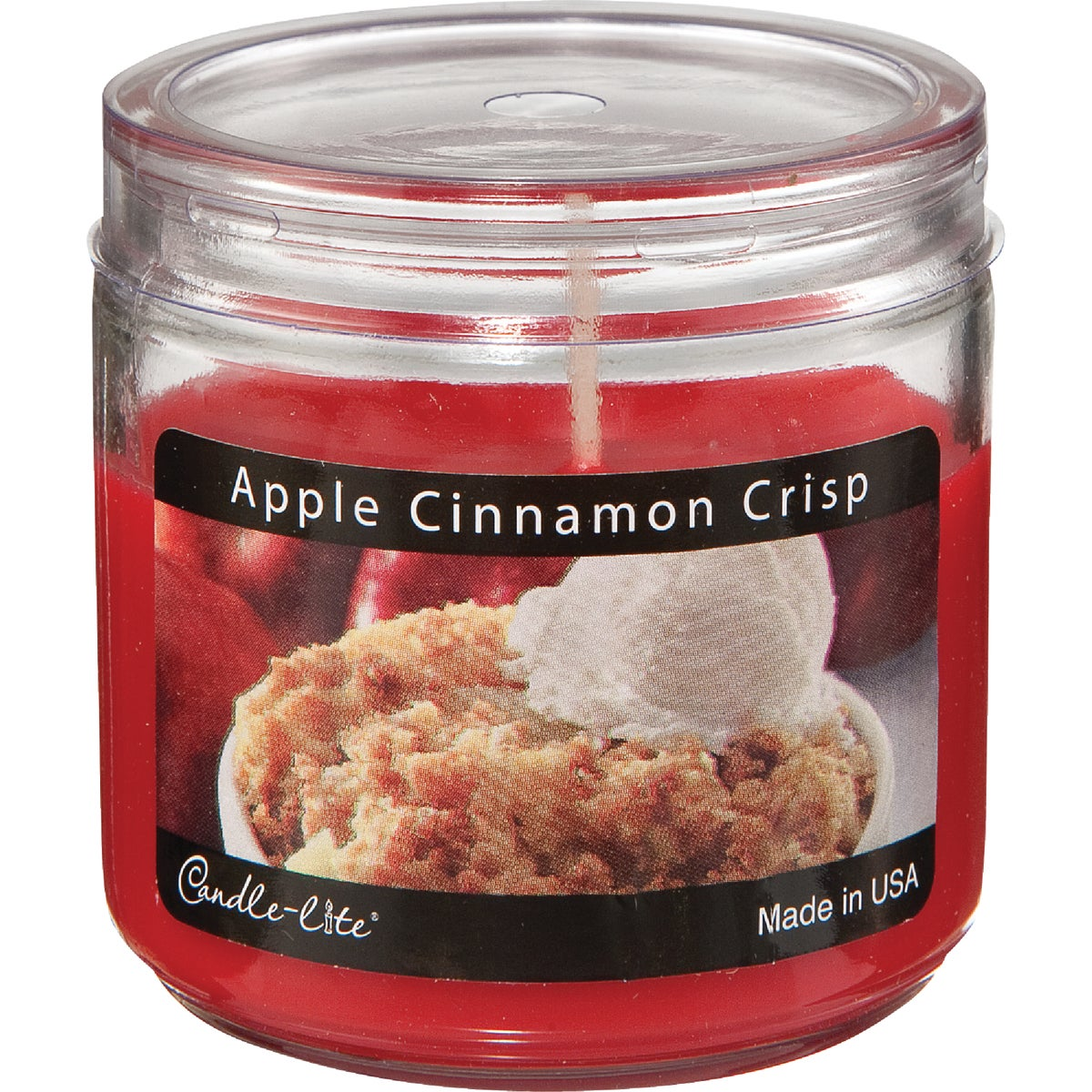 APPLE CRISP JAR CANDLE