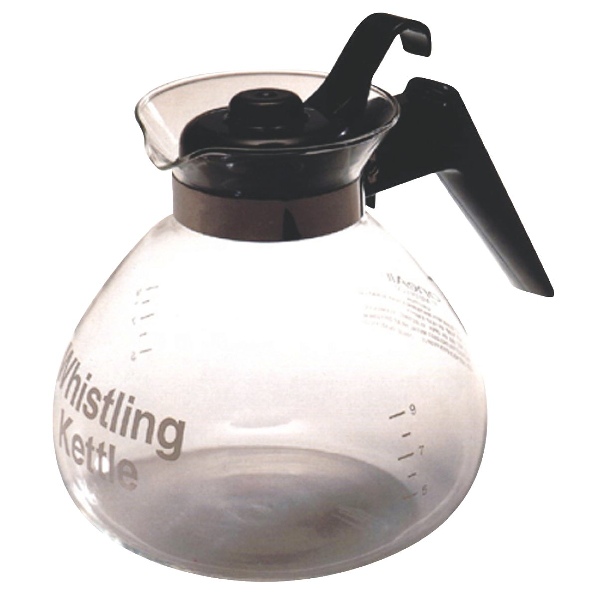12C GLASS STOVETP KETTLE - WK112 by Medelco Inc