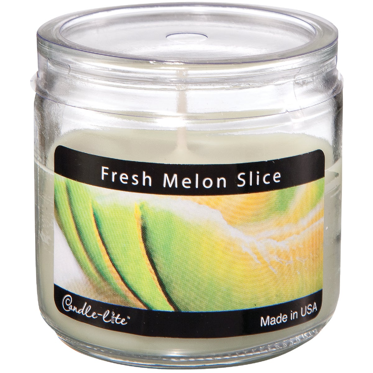 MELON SLICE JAR CANDLE - 2400170 by Candle Lite Co