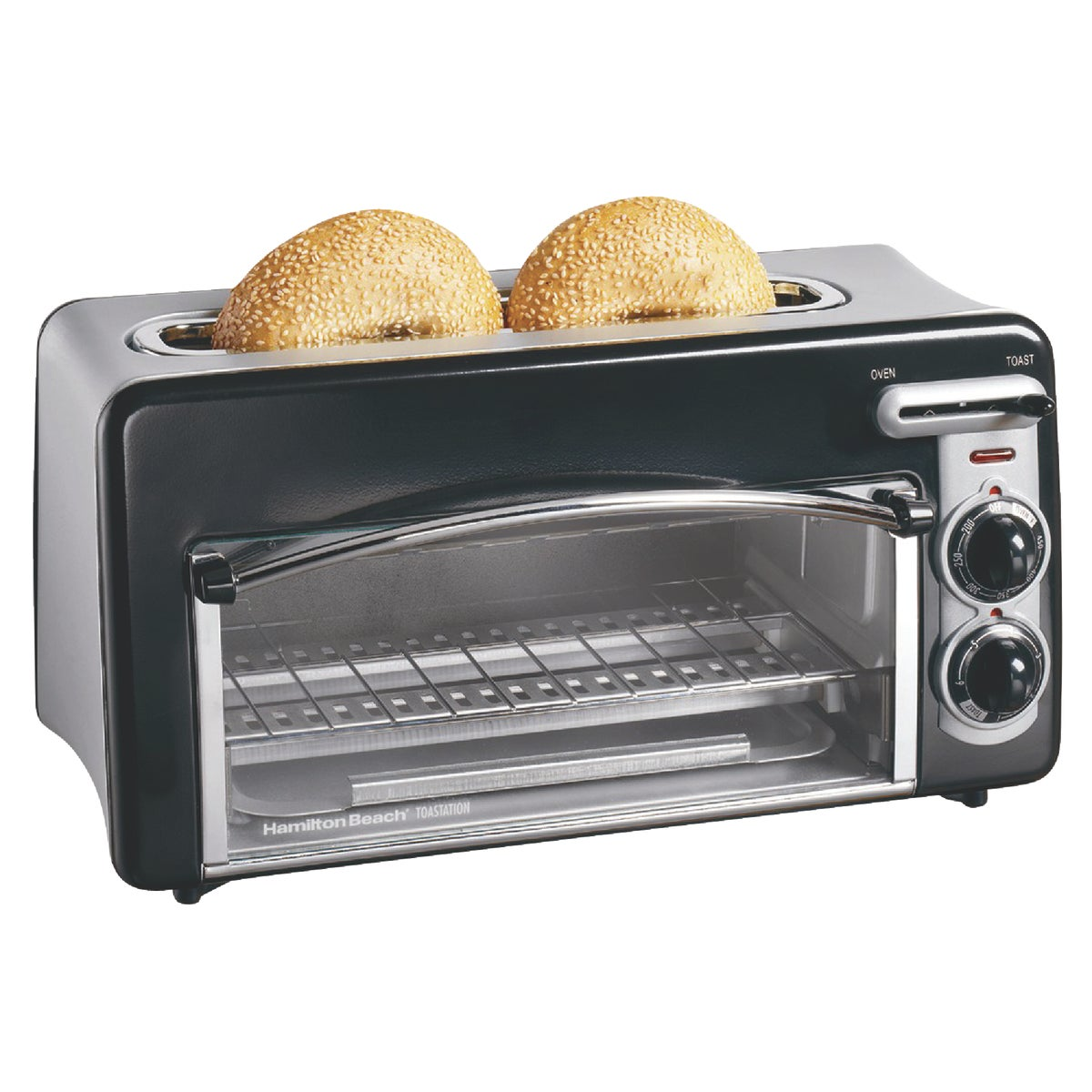 TOASTATION TOASTER OVEN - 22708 by Hamilton Beach Brand