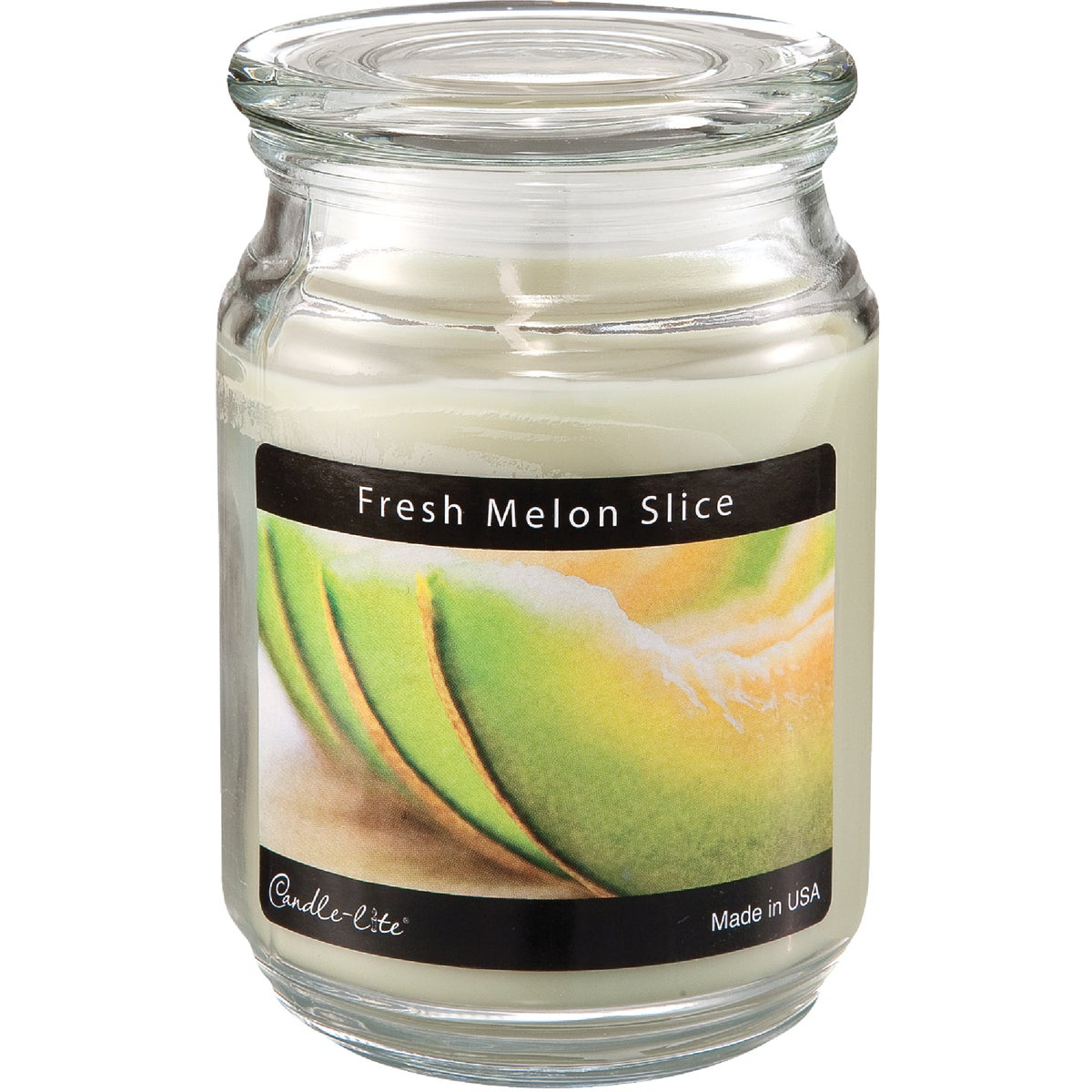 MELON SLICE JAR CANDLE - 3297312 by Candle Lite Co
