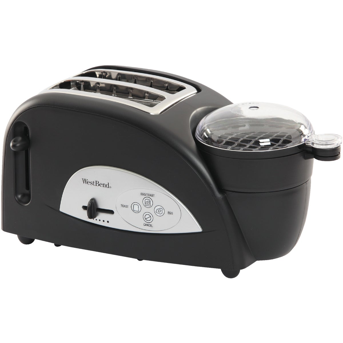 EGG & MUFFIN TOASTER - TEM500W by Focus Electrics Llc