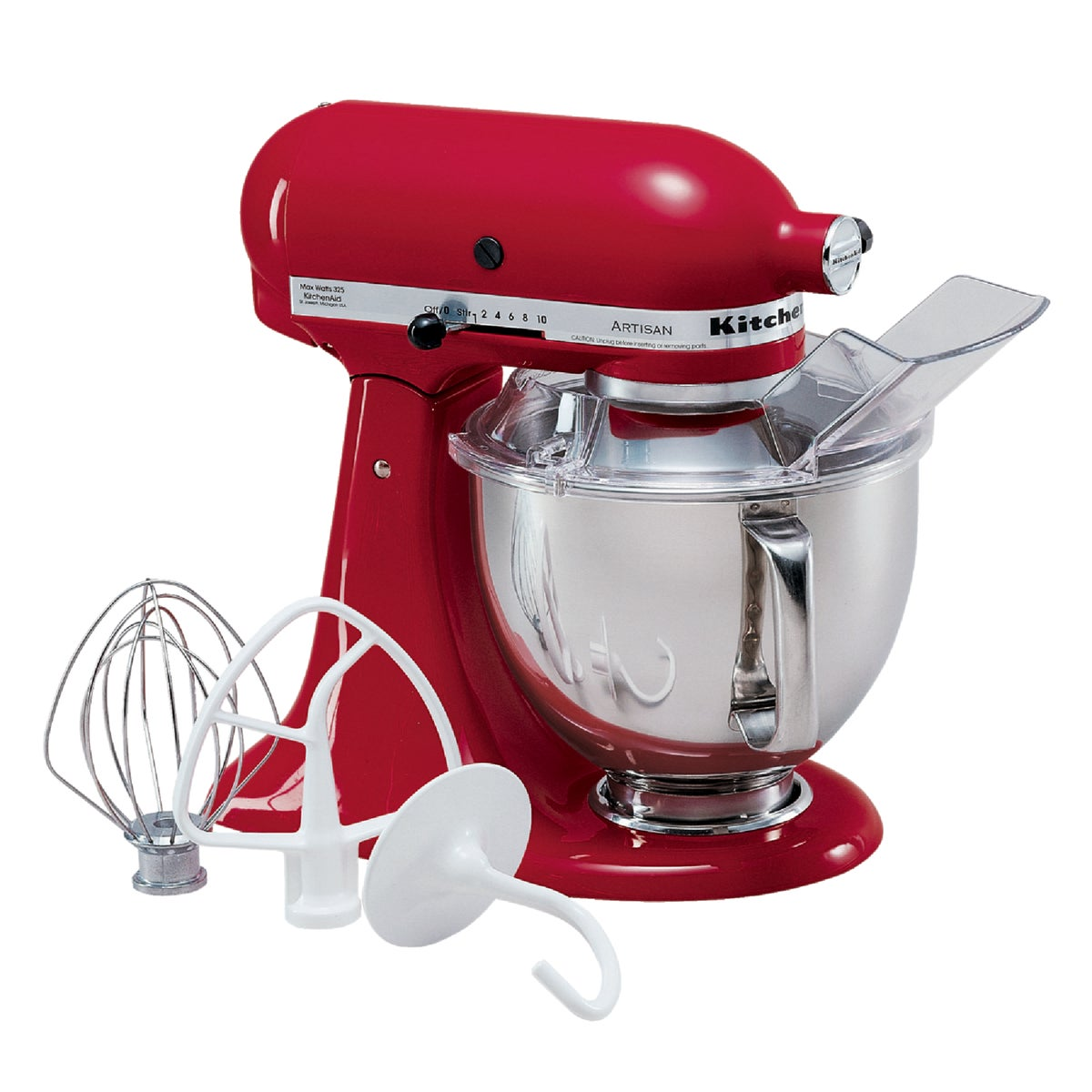 RED ARTISAN STAND MIXER