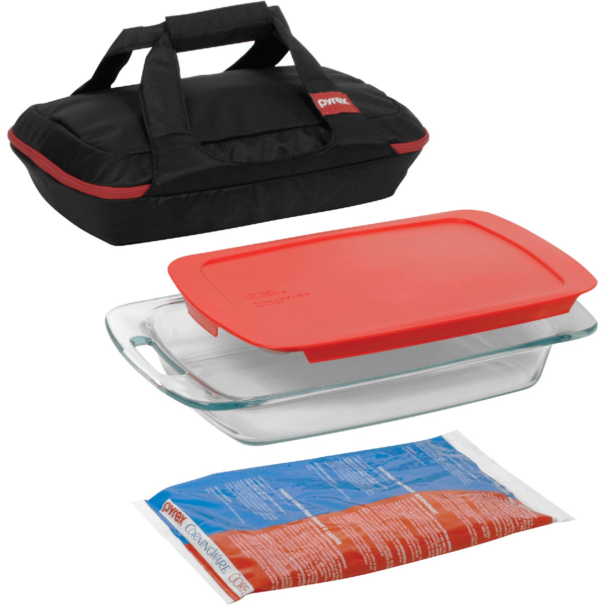 3 QUART PYREX PORTABLE - 1102266 by World Kitchen