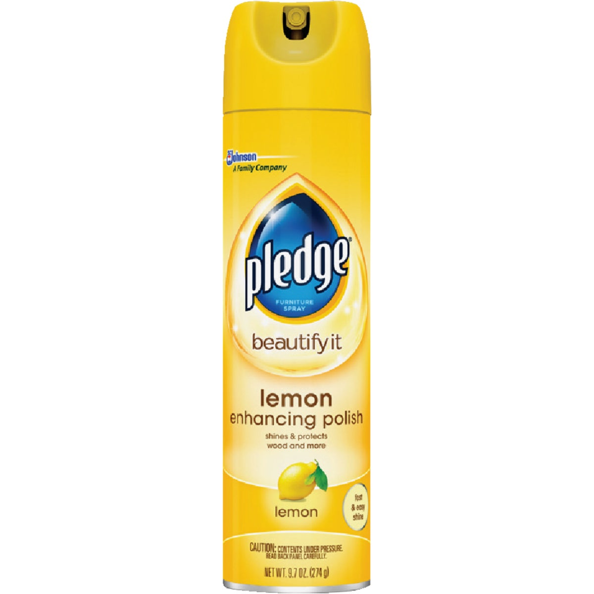 9.7OZ LEMON PLEDGE - 72372 by Sc Johnson