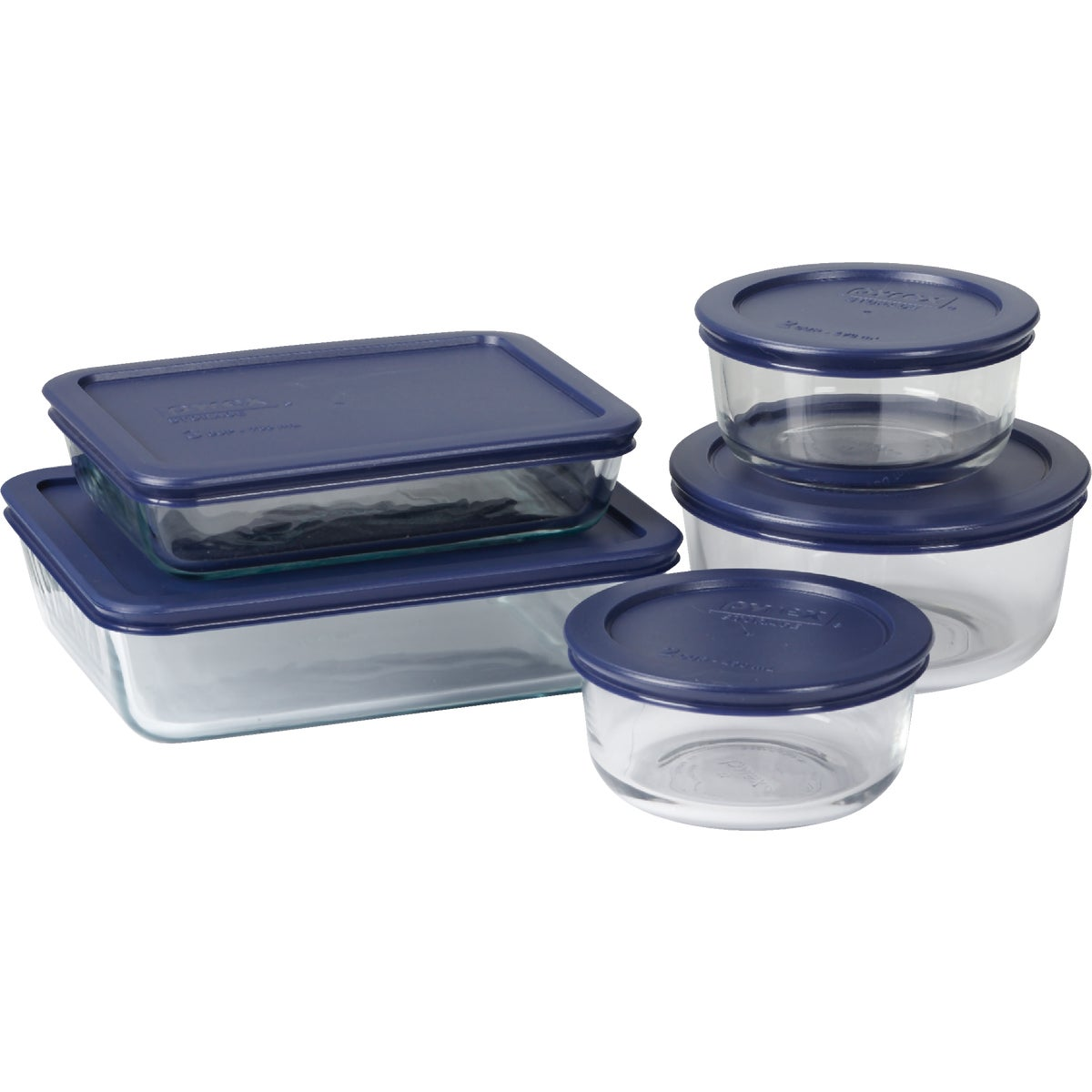 10PC PYREX STORAGE SET - 6021224 by World Kitchen