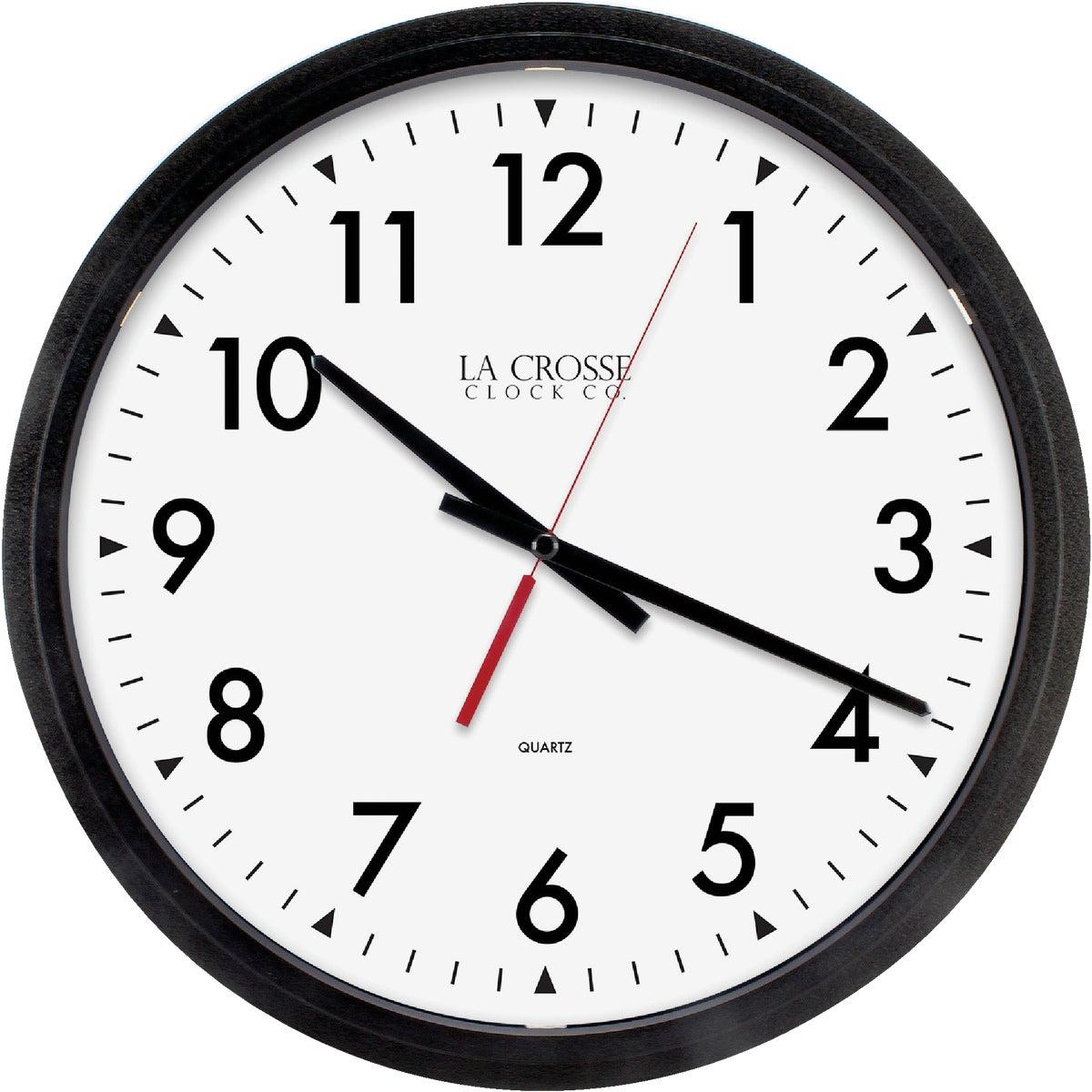 QUARTZ WALL CLOCK - 3980GG by Geneva Clock Company