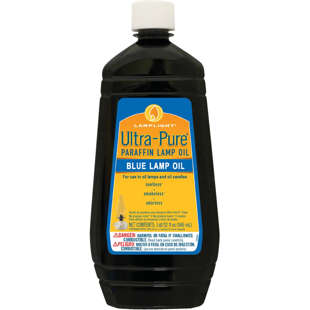 32OZ BLUE LAMP OIL
