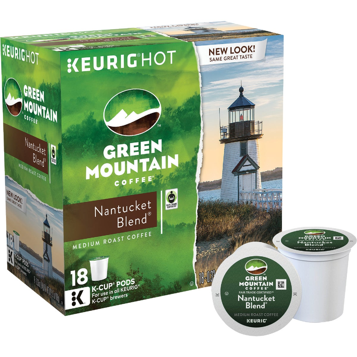 K-CUP NANTUCKET COFFEE - 00663 by Keurig     M Block