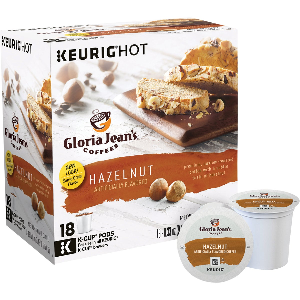 K-CUP HAZELNUT COFFEE - 00526 by Keurig     M Block