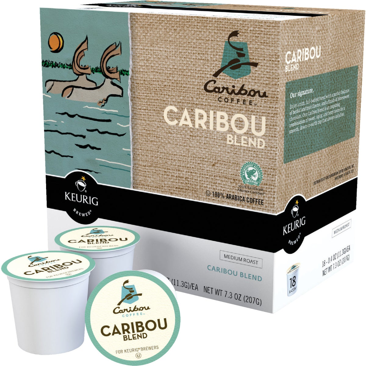 K-CUP CARIBOU COFFEE - 00992 by Keurig     M Block
