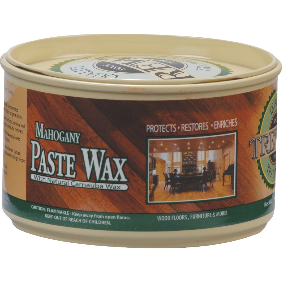 12.35OZ MAHOG PASTE WAX - 887101017-12PK by Beaumont Products