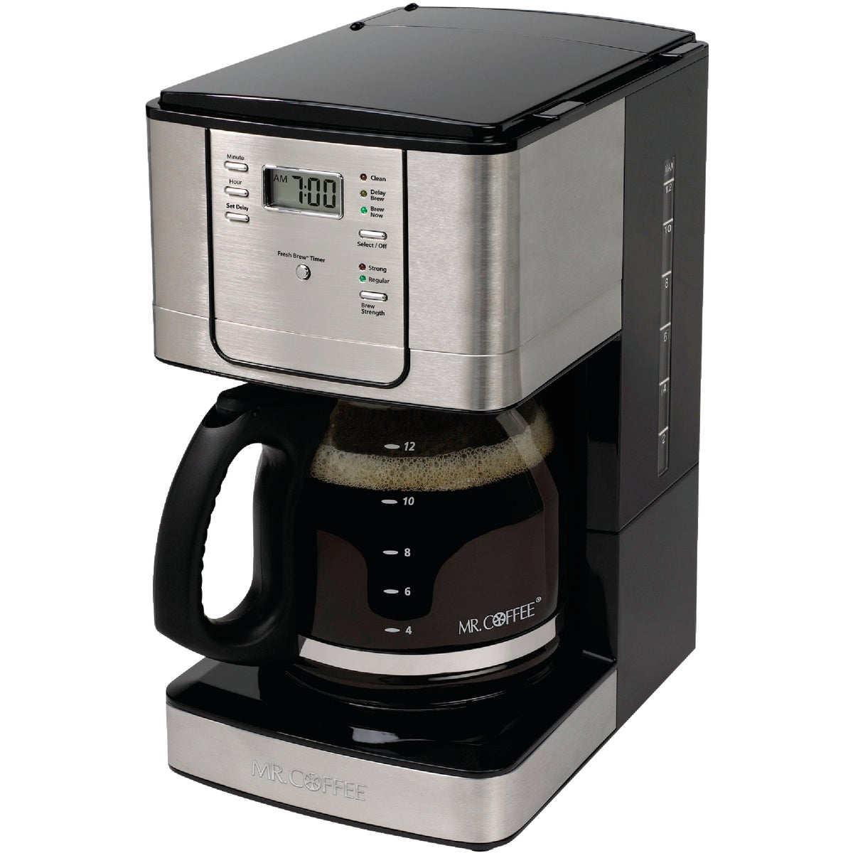 SS 12 CUP COFFEEMAKER