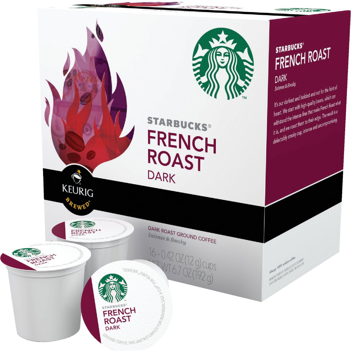 K-CUP FRNCH ROAST COFFEE - 09517 by Keurig     M Block
