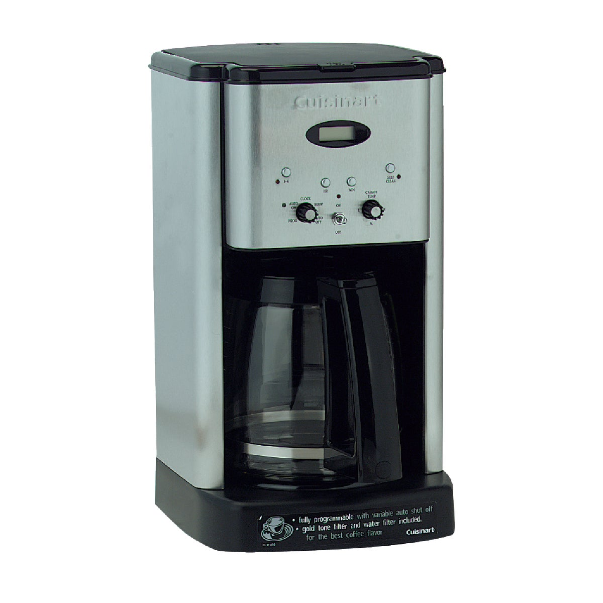 SS BLK 12C COFFEE MAKER - DCC-1200 by Cuisinart