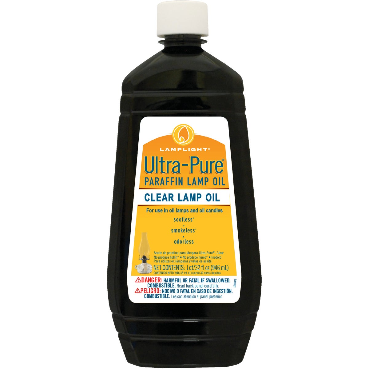 32OZ ULTRA PURE LAMP OIL - 60009 by Lamplight Farms