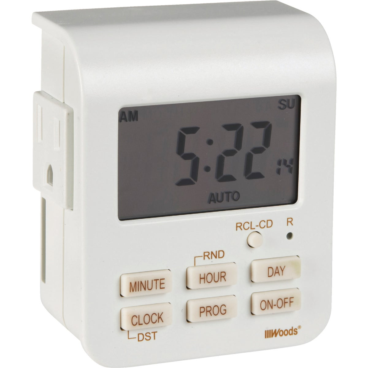 7-HR DIGITAL TIMER - 50009 by Woods Wire Coleman