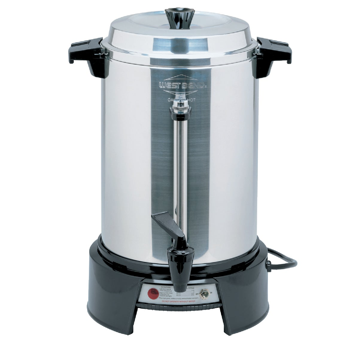55 CUP ALUM COFFEE MAKER - 13500 by Focus Electrics Llc