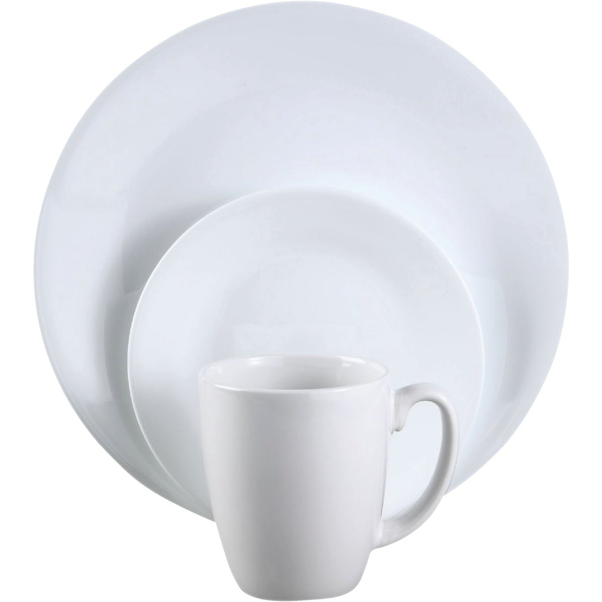 16PC WINTER DINNERWARE