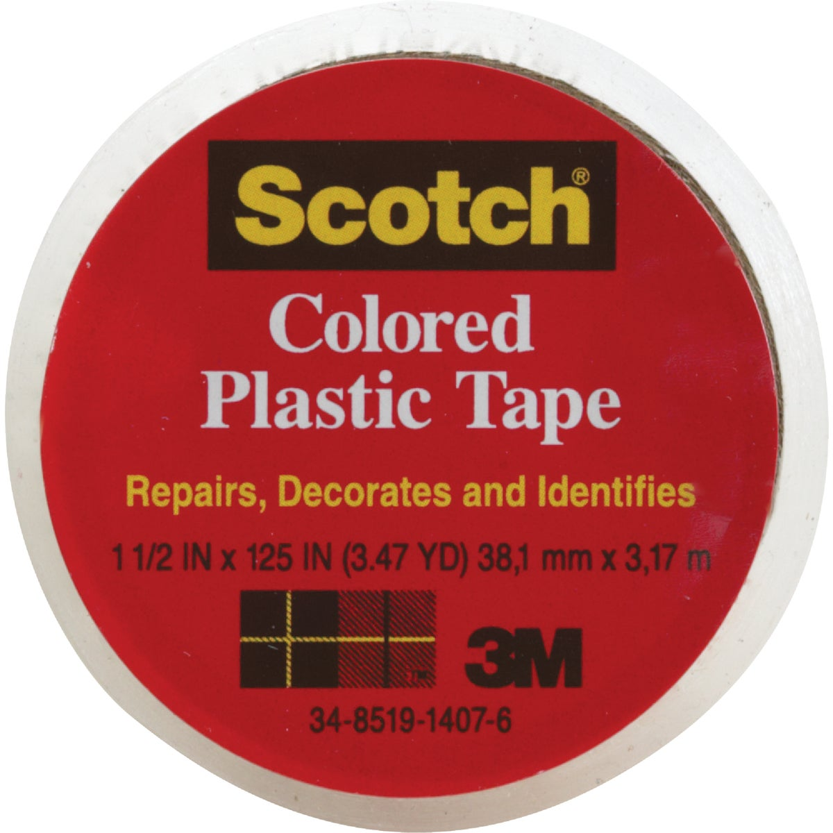 "SCOTCH 1-1/2""CLR PL TAPE - 191 by 3m Co"