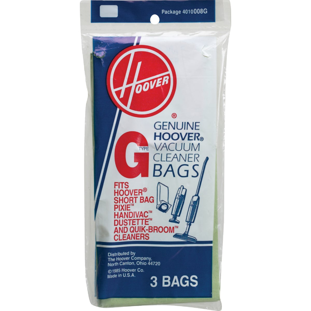 TYPE G VAC CLEANER BAG - 4010008G by Hoover Co