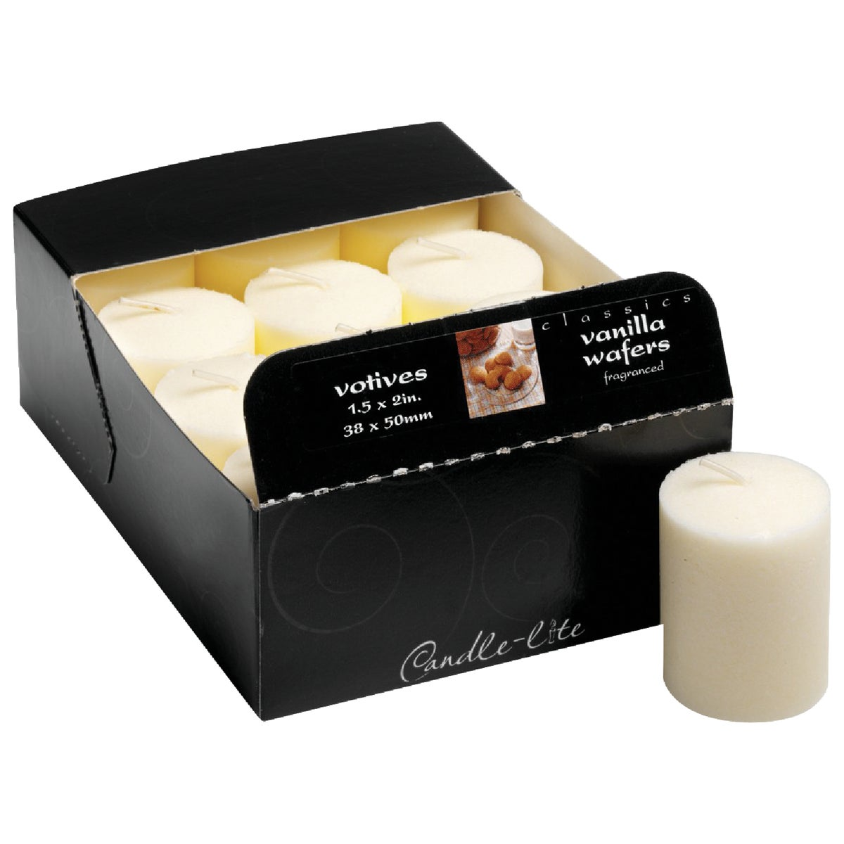 BLK CHRRY CLASSIC VOTIVE - 1276565 by Candle Lite Co