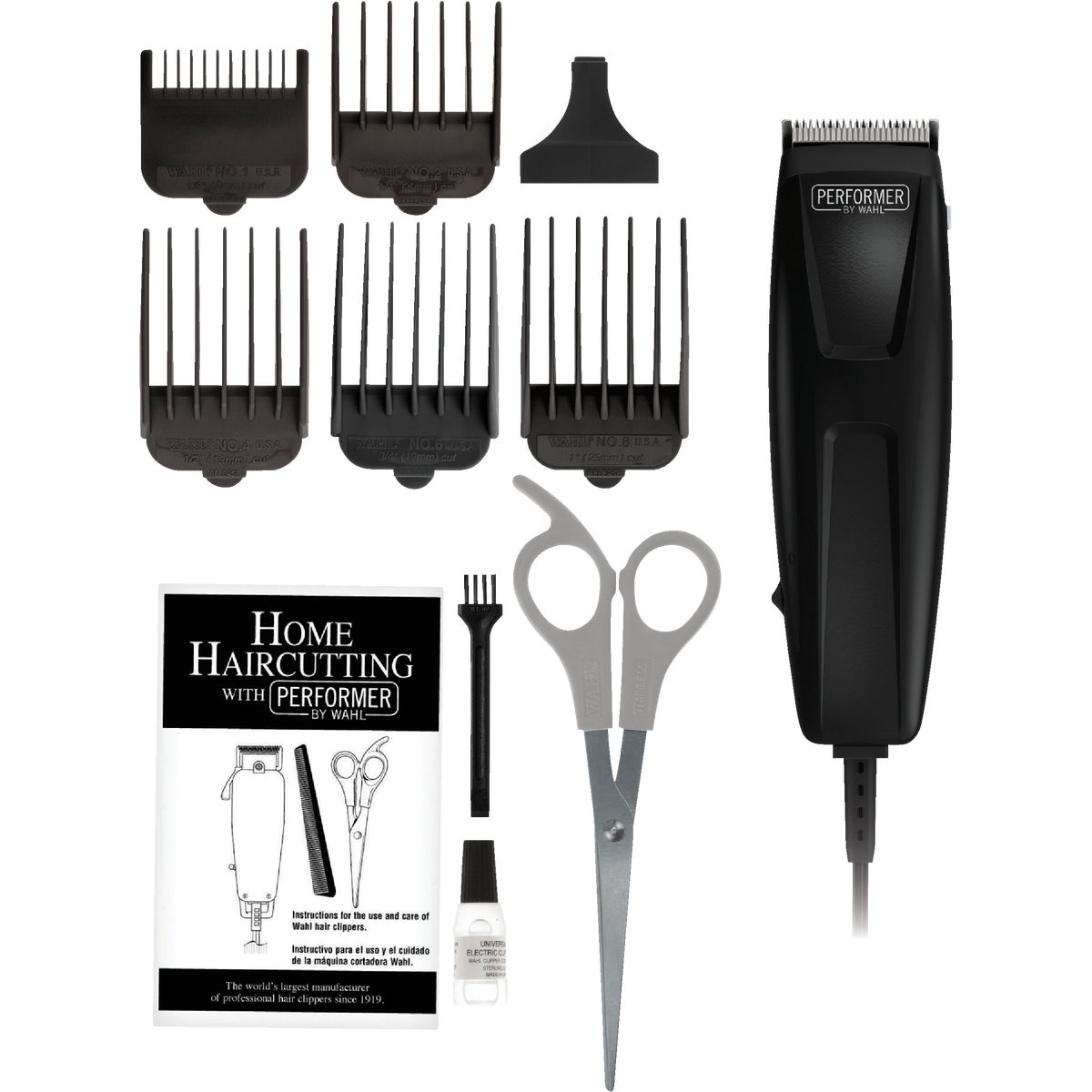 10PC HAIR CUTTING KIT