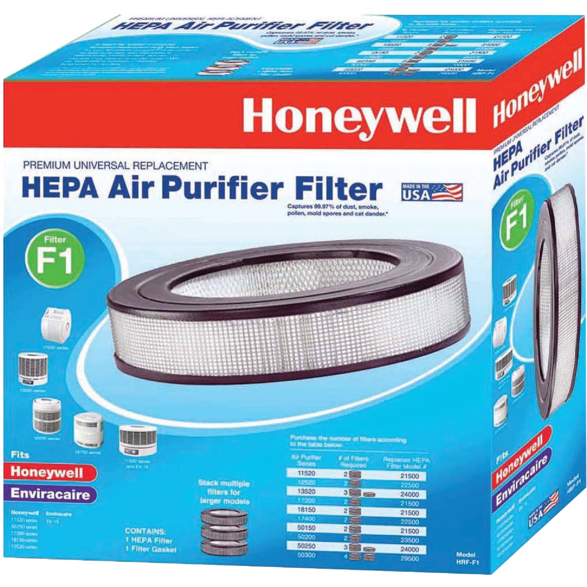 LONGLIFE TRUEHEPA FILTER - HRF-F1 by Kaz Home Environment