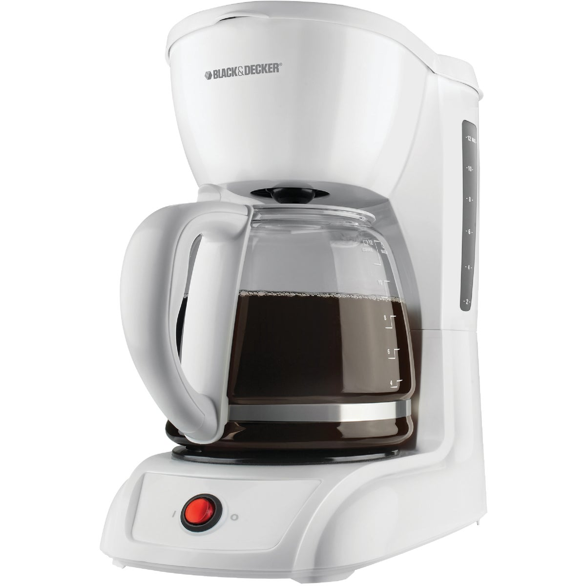 12CUP WHT COFFEE MAKER