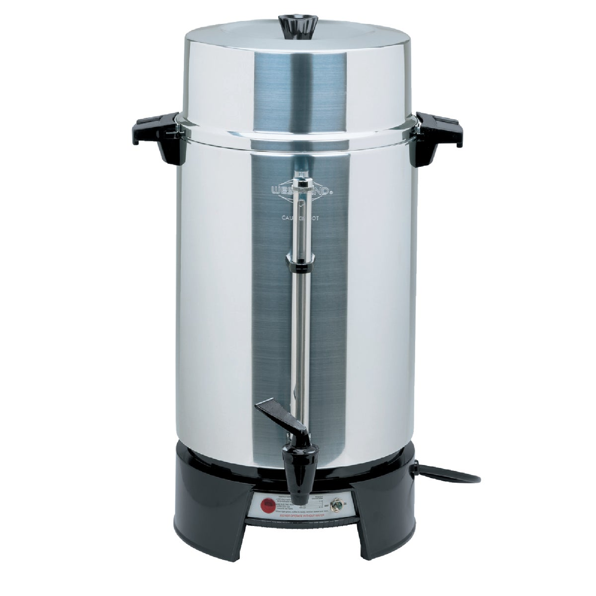 100CUP ALUM COFFEE MAKER - 33600 by Focus Electrics Llc