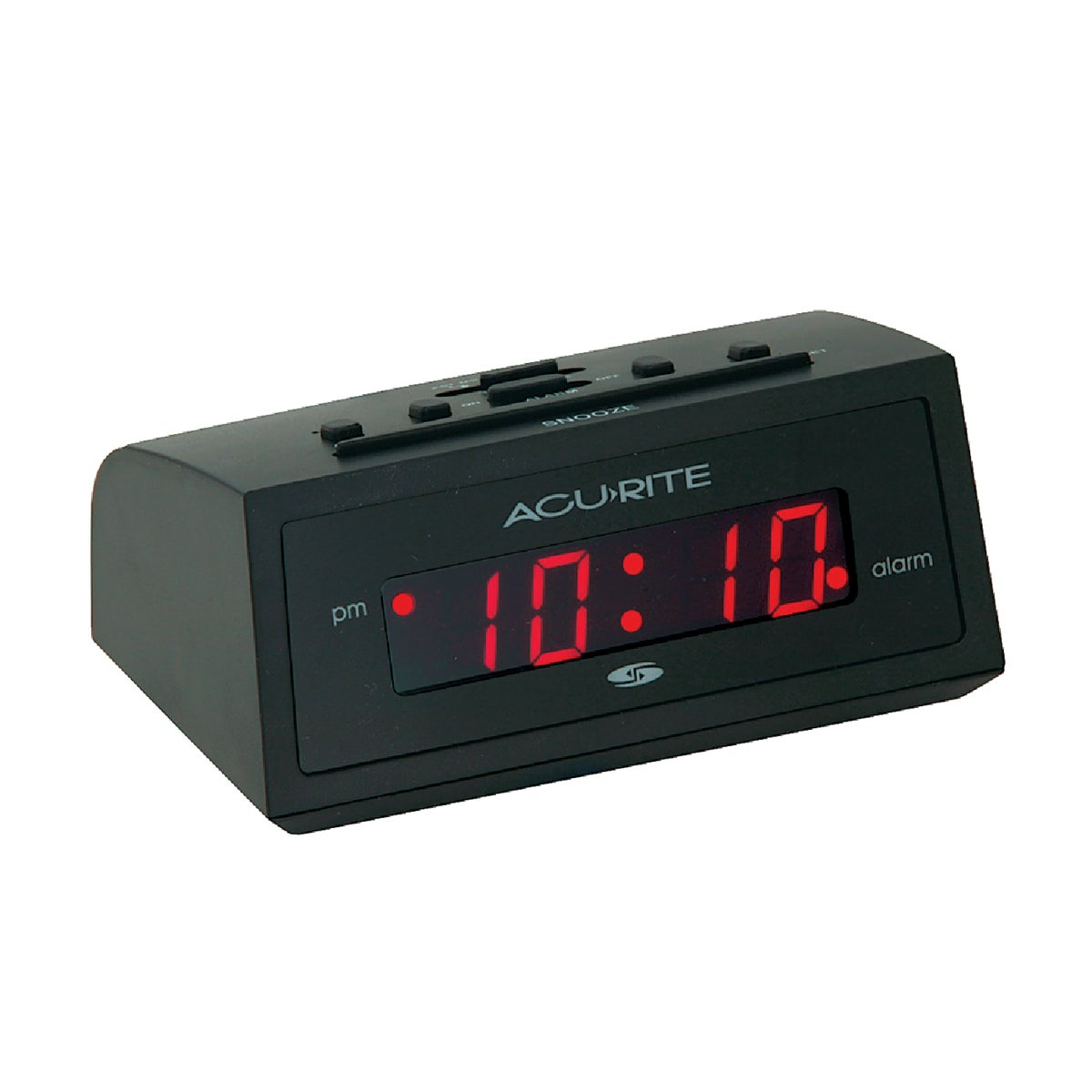 BLACK ALARM CLOCK - 13002 by Chaney Instrument Co