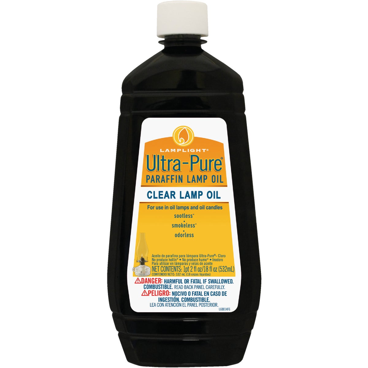 18OZ CLR ULTRA LAMP OIL - 60014 by Lamplight Farms