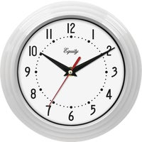Geneva Clock Co QUARTZ WALL CLOCK 8001
