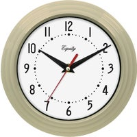 Geneva Clock Co QUARTZ WALL CLOCK 8003