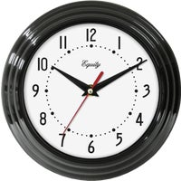 Geneva Clock Co QUARTZ WALL CLOCK 8002