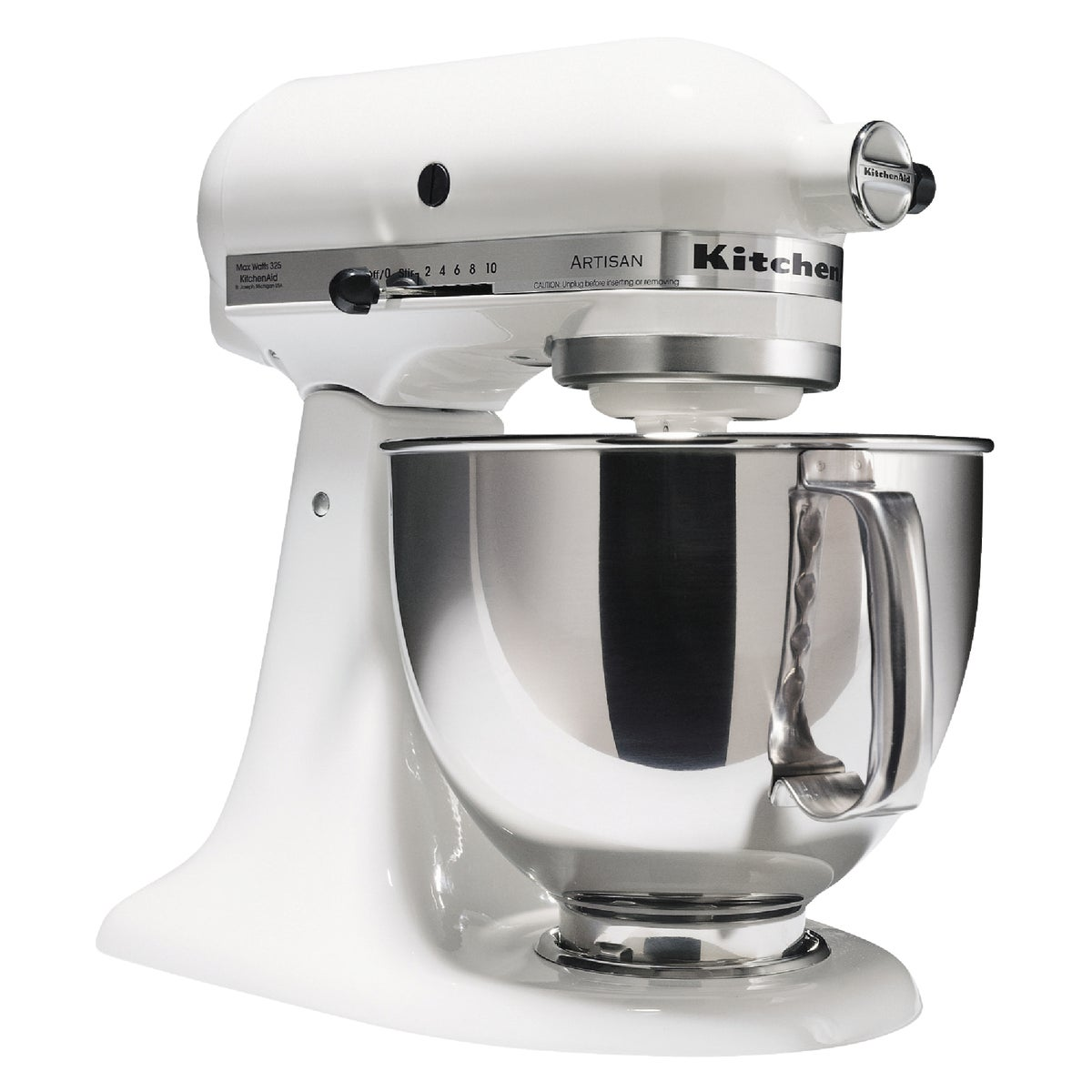 WHT ARTISAN STAND MIXER - KSM150PSWH by Kitchenaid Inc