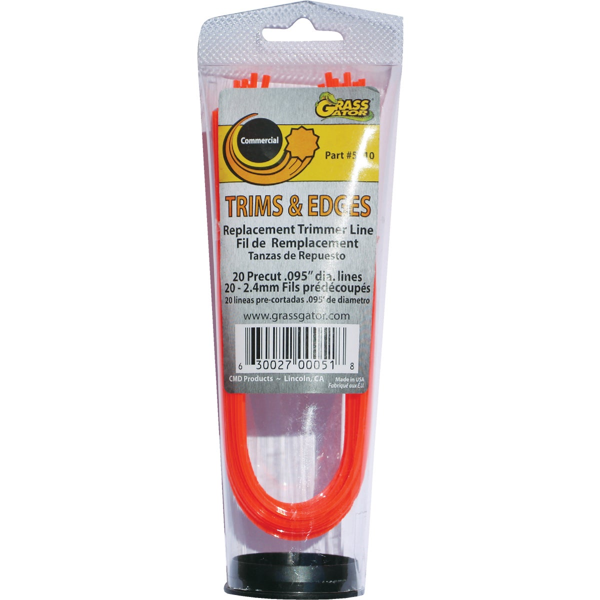 .095 PRECUT TRIMMER LINE - 5610 by C M D Products
