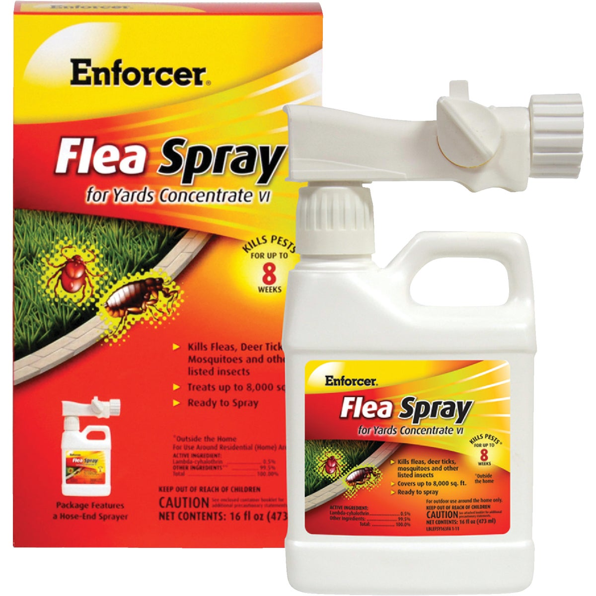 FLEA & TICK SPRY CONC - EFSY163 by Zep Enforcer Inc