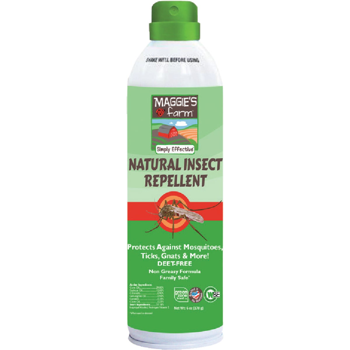 6OZ INSECT REPELLENT - 33106 by Ecosmart Tech