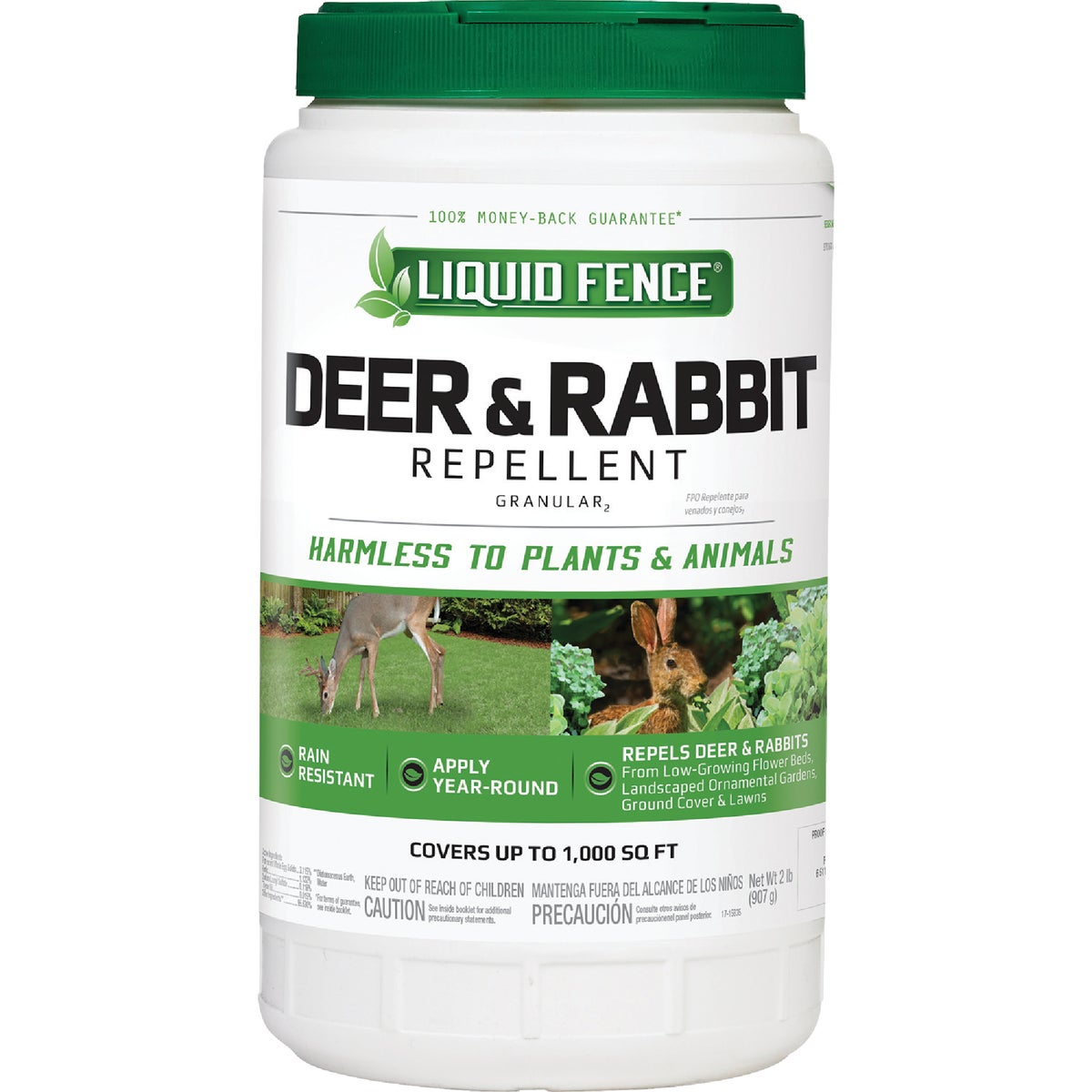 2LB GRAN DEER & RAB REP - 266 by Liquid Fence Co Inc