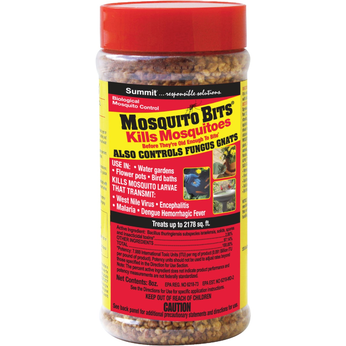 8OZ MOSQUITO BITS - 116-12 by Summit Chemical Co