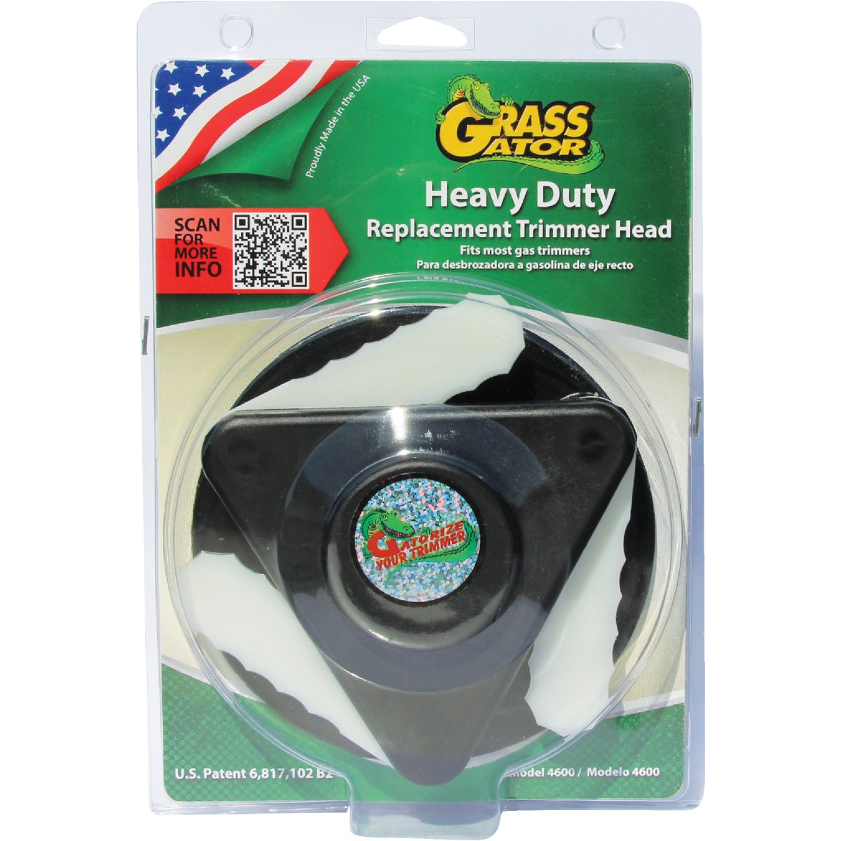 HV DUTY GAS TRIMMER HEAD - 4600 by C M D Products