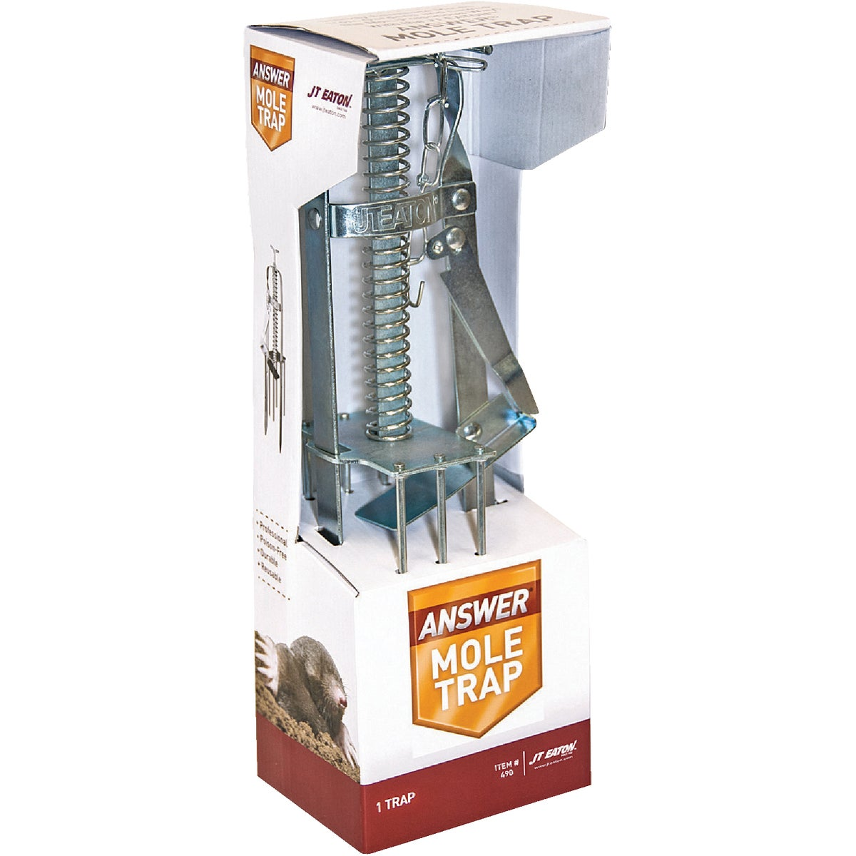 MECHANICAL MOLE TRAP - 490 by Jt Eaton & Co