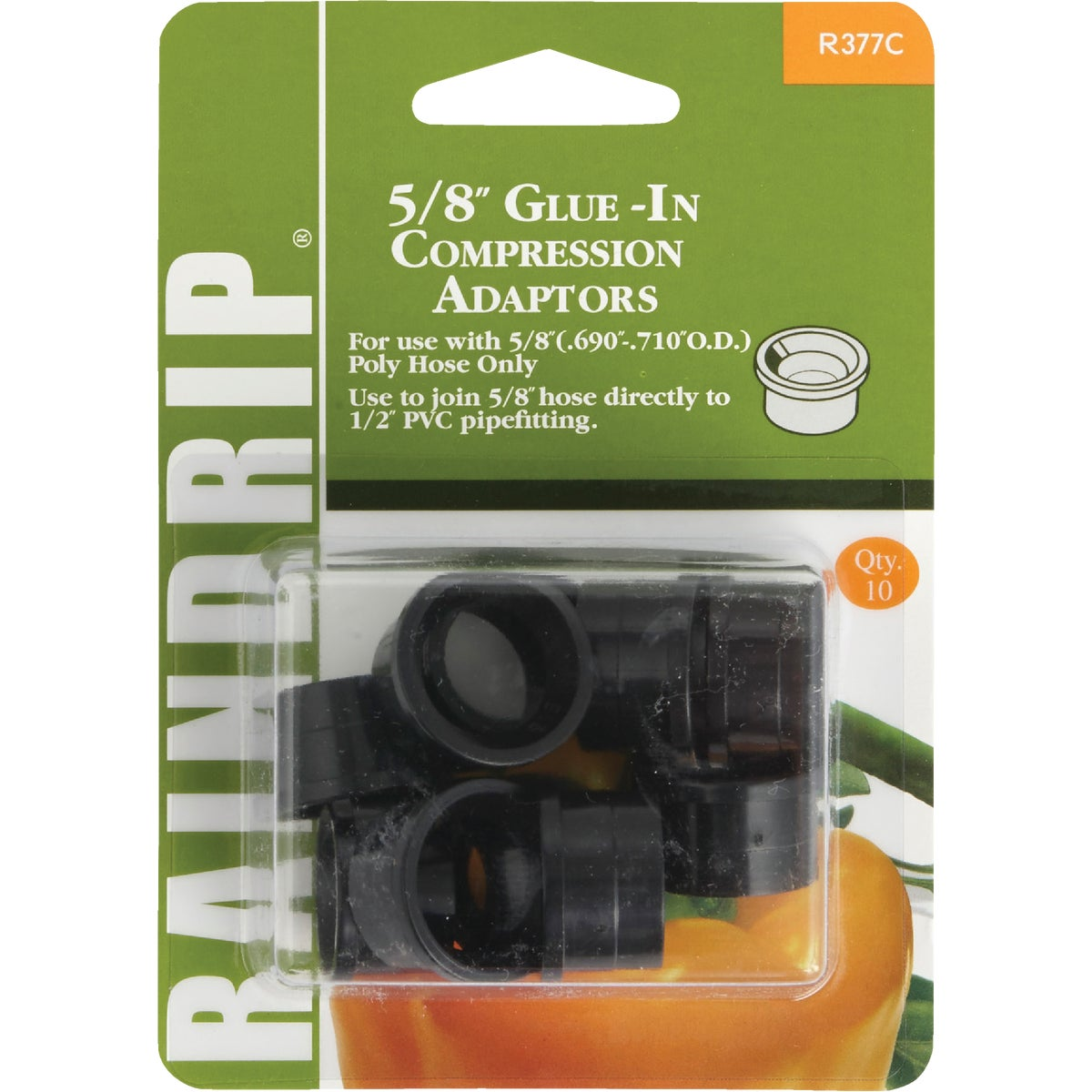 "5/8"" GLUE-IN ADAPTOR - R377CT by Raindrip Inc"