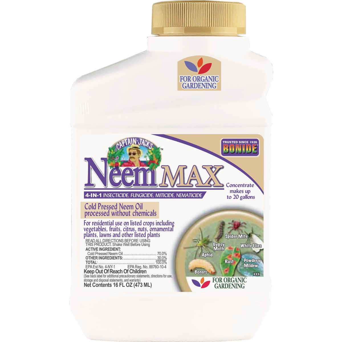 NEEM OIL CONC PT - 024 by Bonide