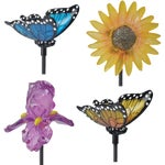 Moonrays Spring Fling Stake Light Lawn Ornament Display
