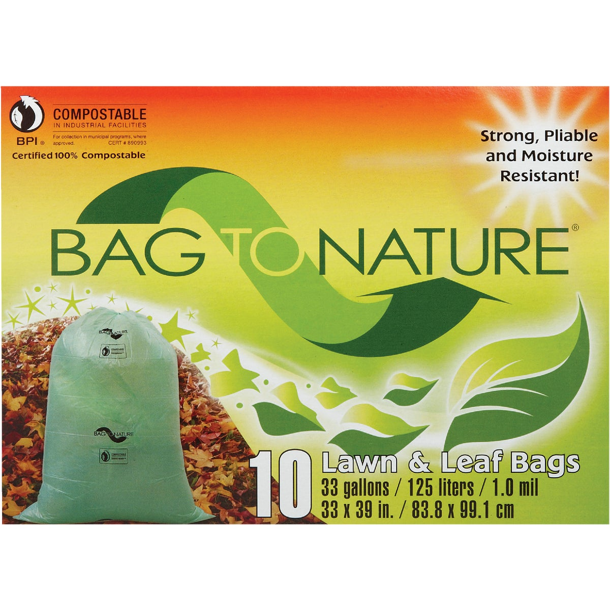 33GAL LEAF AND YARD BAG - 11310 by Indaco Manufacturing